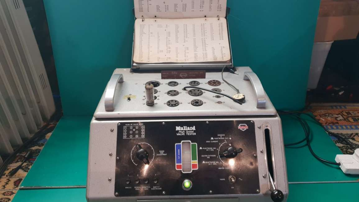 Mullard E7600/4 High Speed Valve Tester